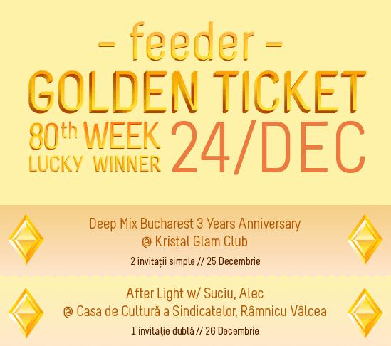 Golden Ticket W80 XMAS events