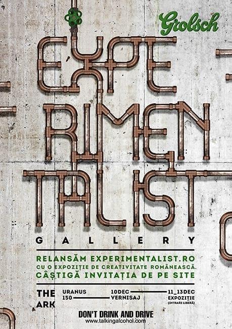 Experimentalist Gallery - Experimentalist.RO duce arta în offline @ The ARK
