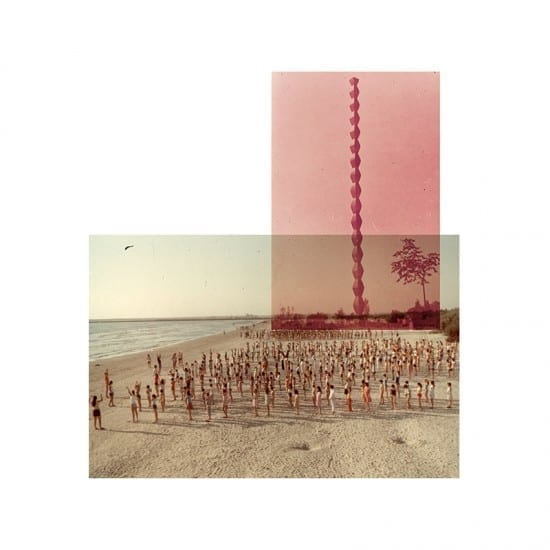 Vland Nancă - Collages of found series