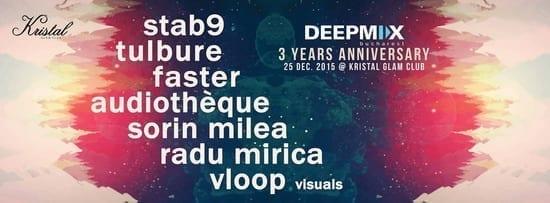 Deep Mix Bucharest 3 Years Anniversary @ Kristal Glam Club