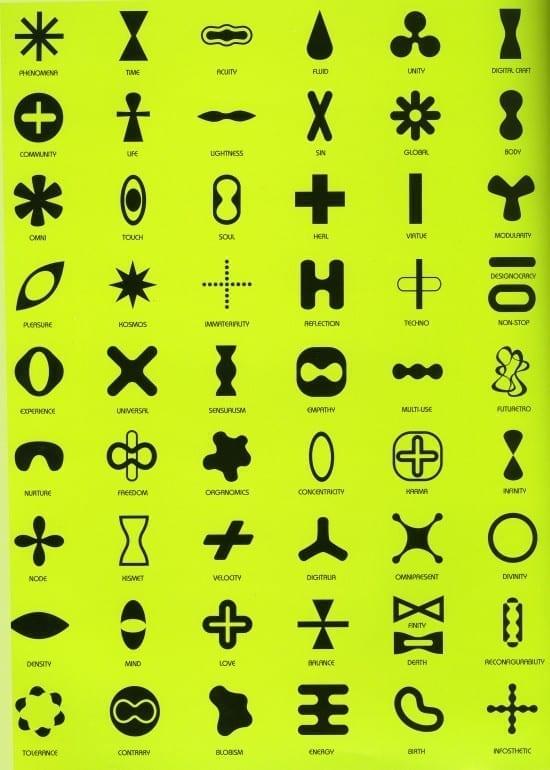 Karim Rashid icons