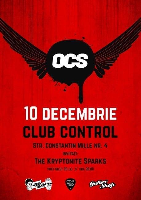 Concert OMUL CU ȘOBOLANI @ Control Club