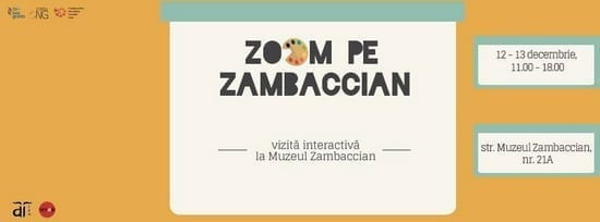 Zoom pe Zambaccian - Vizită interactivă la Muzeul Zambaccian