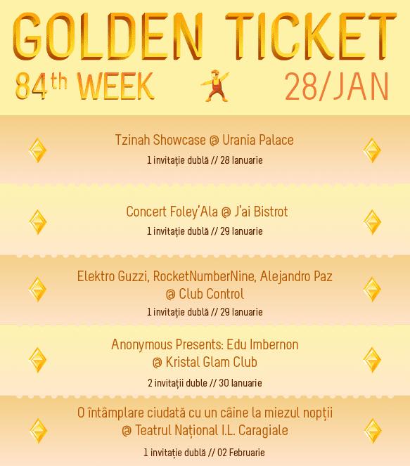 Golden Ticket W84