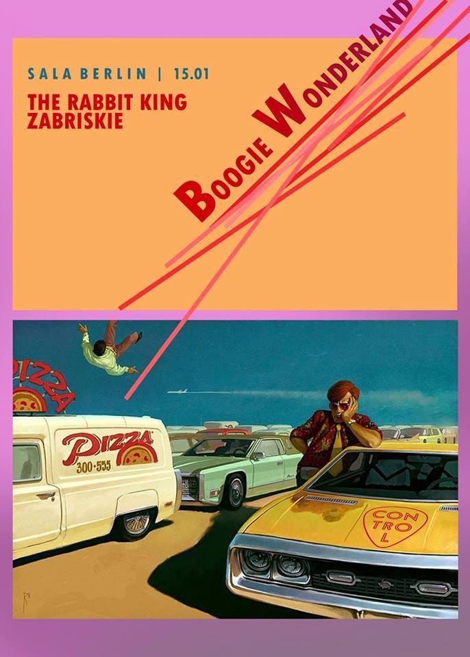 Boogie Wonderland w. Zabriskie & The Rabbit King @ Club Control