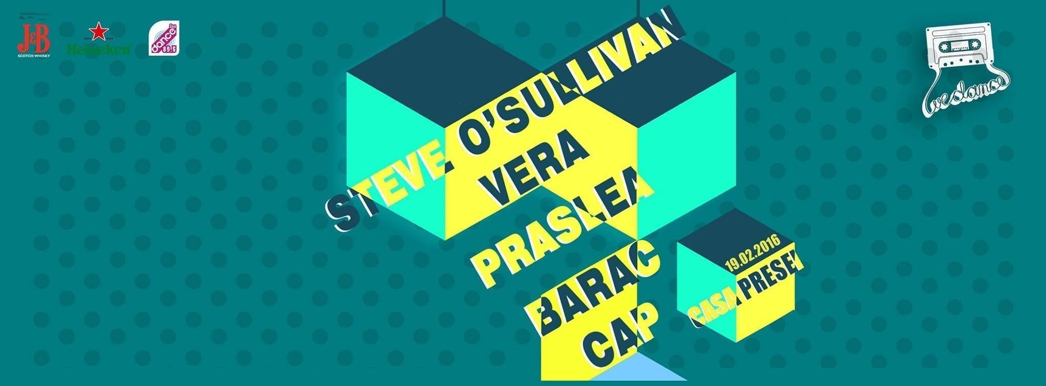 We Dance w/ Steve O'Sullivan, Vera, Praslea, Barac, Cap @ Casa Presei