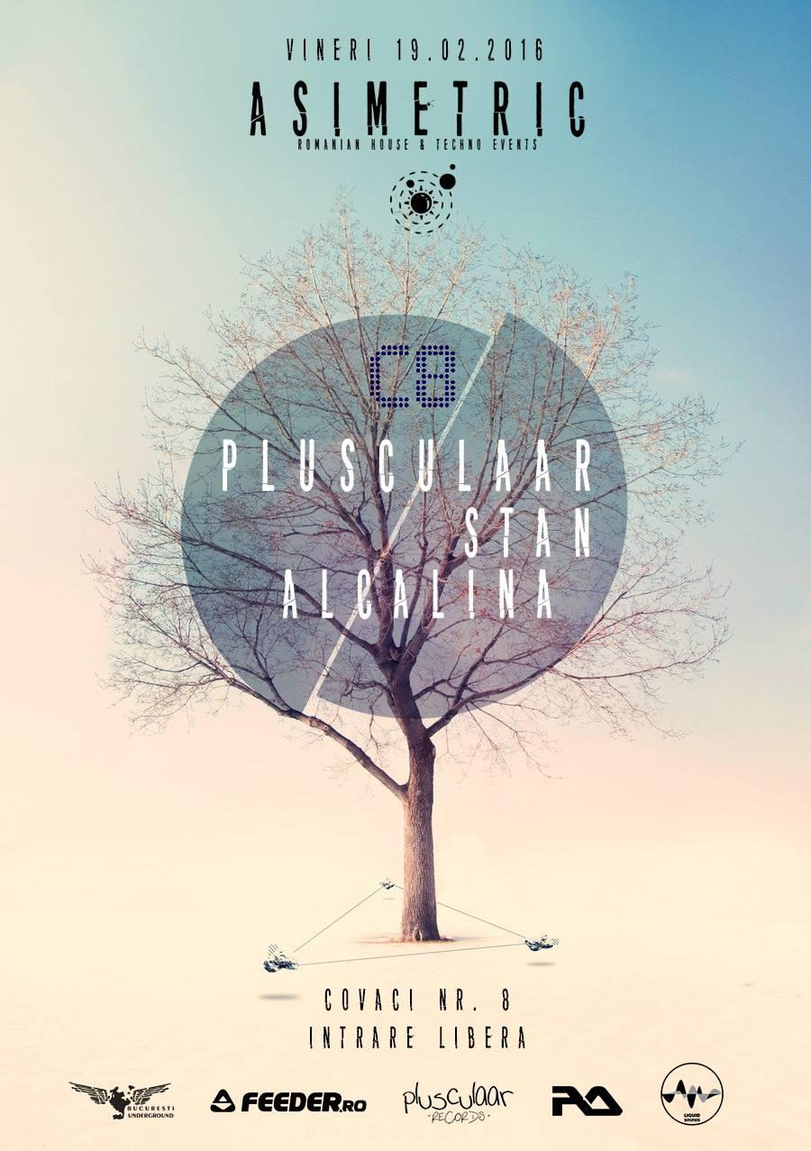 Asimetric #2 with: Plusculaar, Stan, Alcalina @ C8