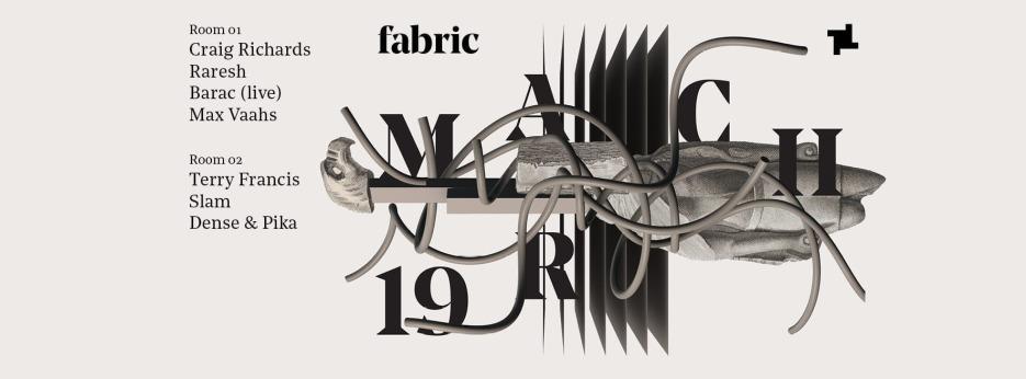 Raresh, Barac, Slam, Dense & Pika @ fabric