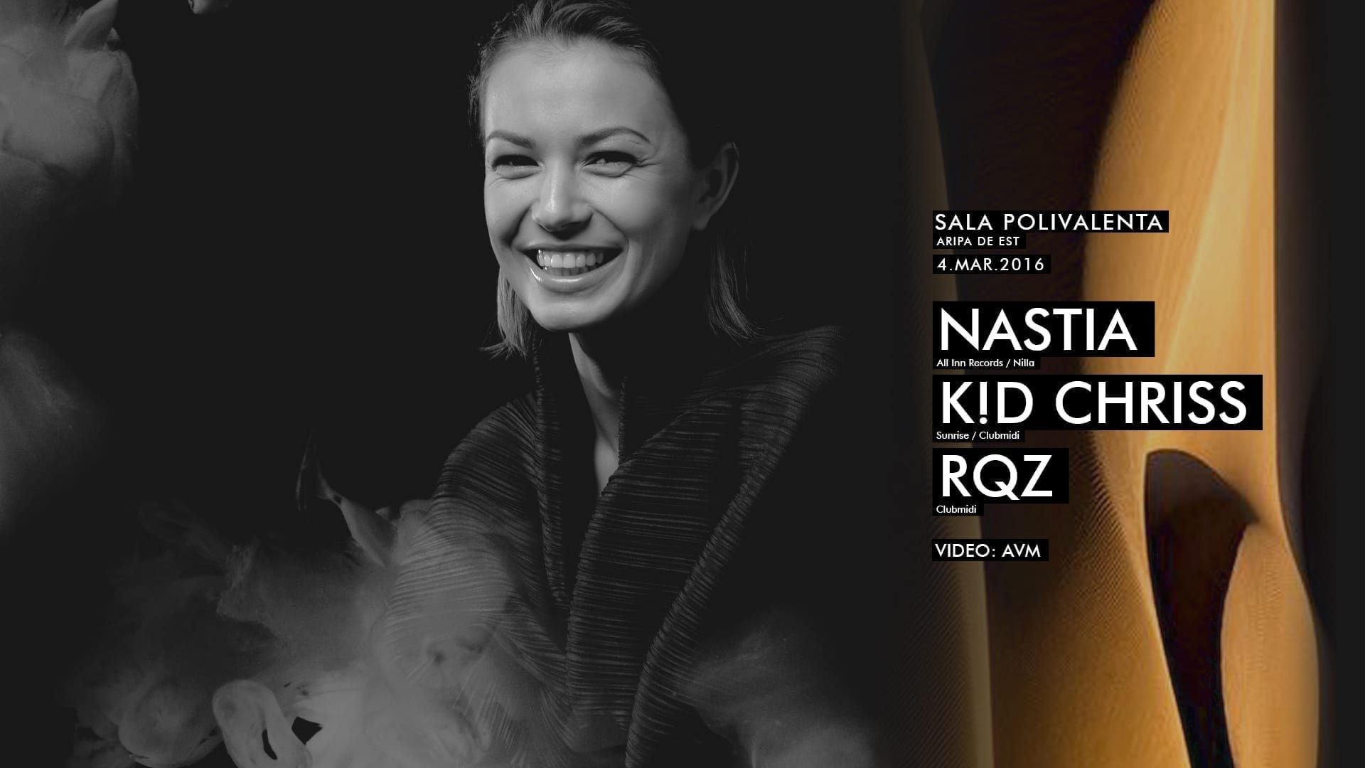 Nastia, K!D Chriss, RQZ @ Sala Polivalentă Cluj