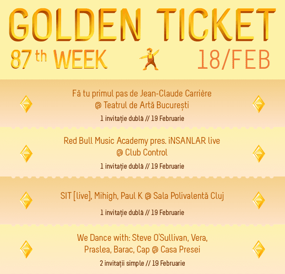 Golden Ticket W87