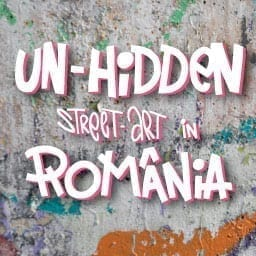 Un-hidden Romania street art map & artworks
