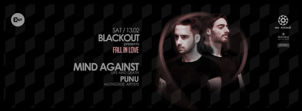 BlackOut: Fall in love with Mind Against & Punu @ club no name Timisoara