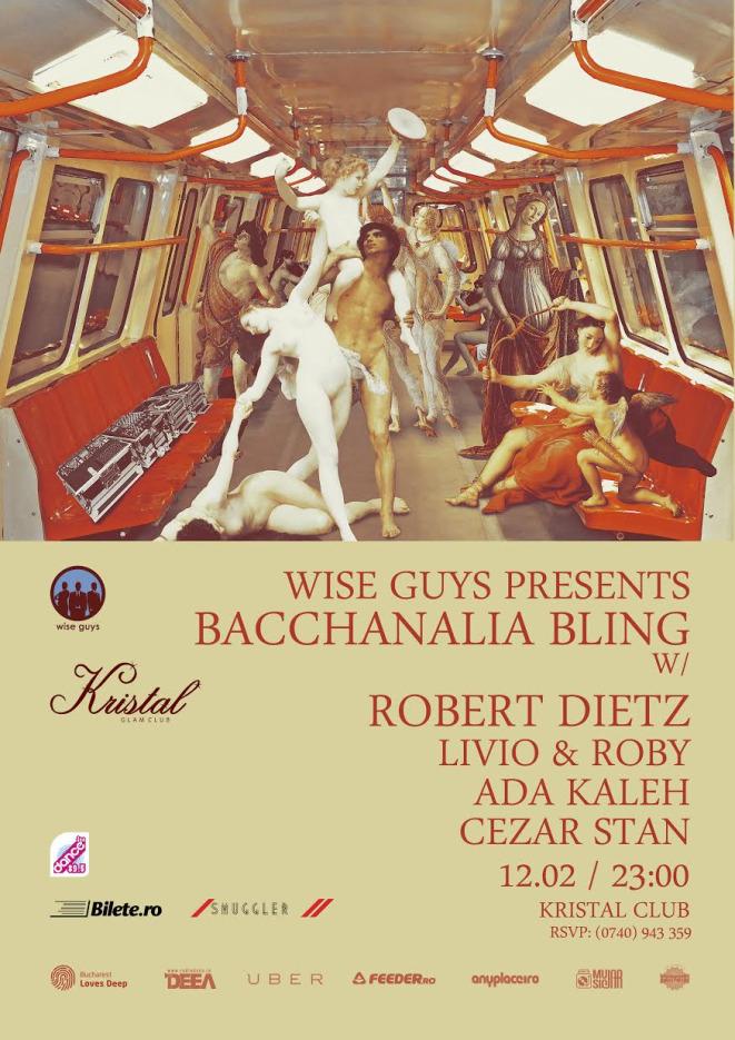Wise Guys Events pres. Robert Dietz, Livio&Roby, Ada Kaleh, Cezar Stan @ Kristal Glam Club