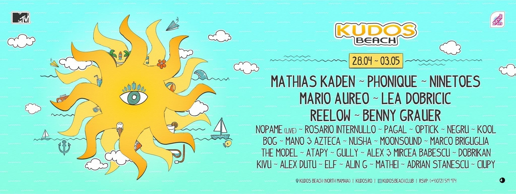 1st of May 2016 @ Kudos Beach