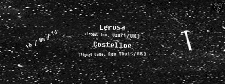 Lerosa, Costelloe @ Control Club