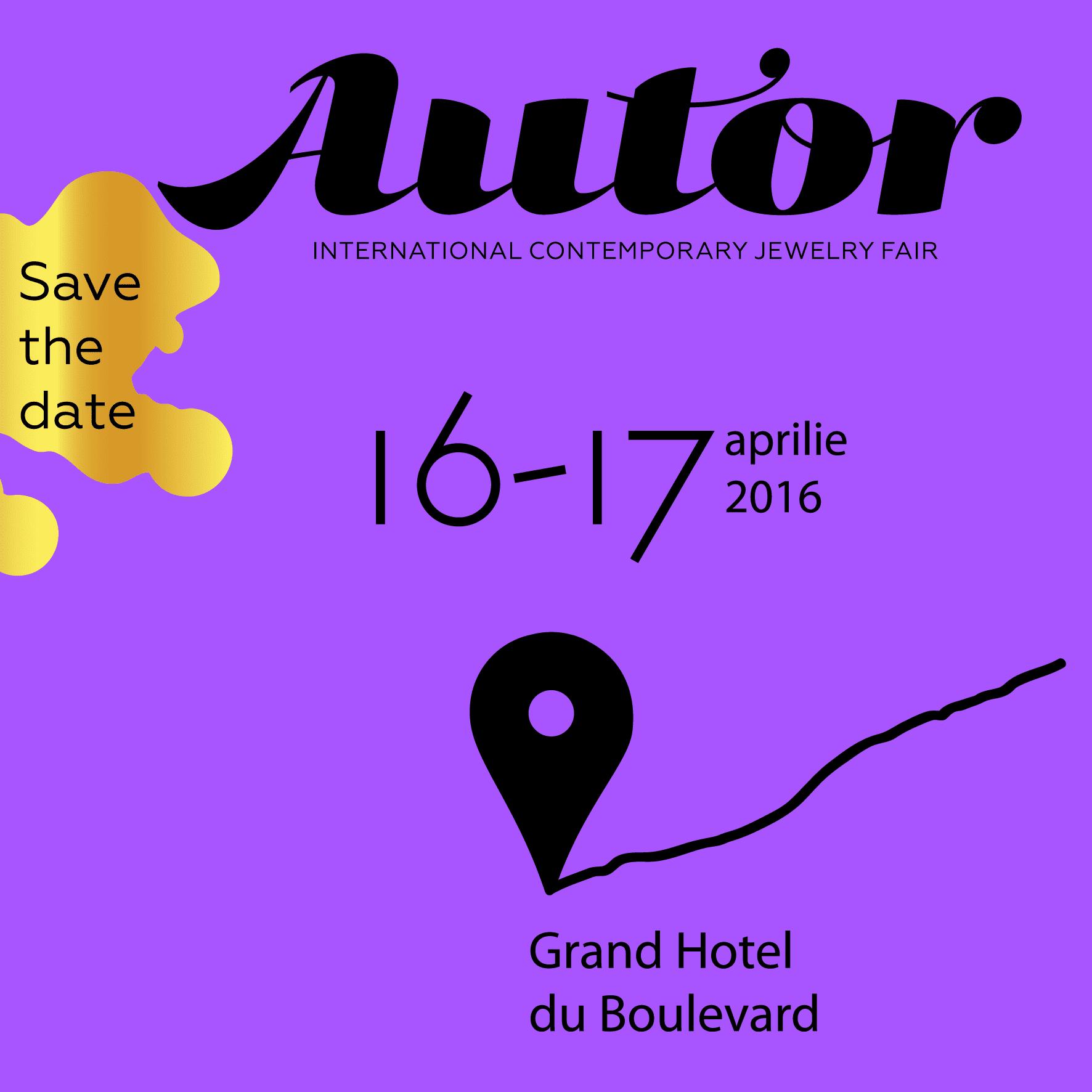 AUTOR Save the Date