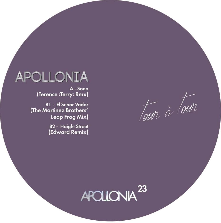 Apollonia - Tour a Tour The Remixes