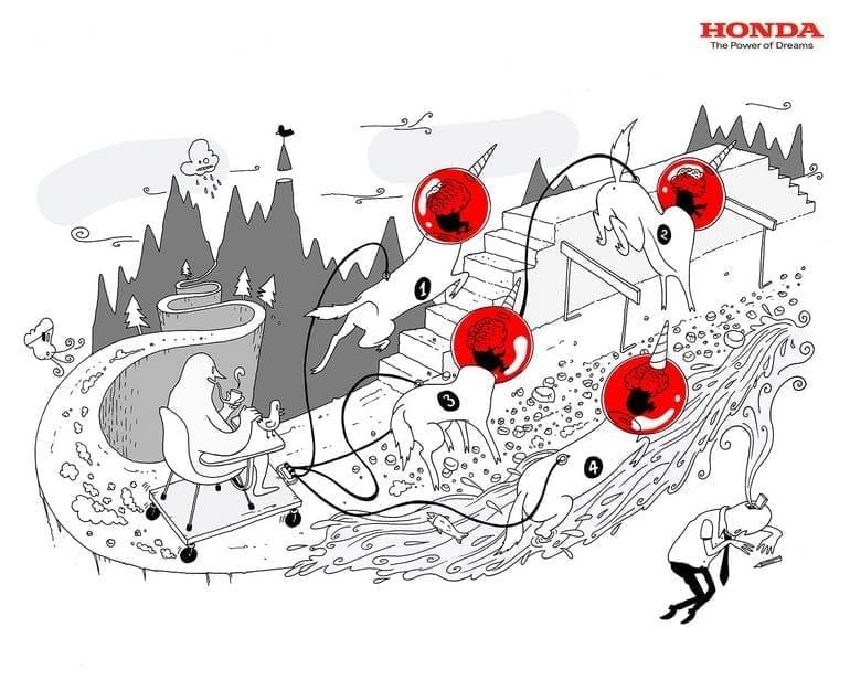 Honda ad - 2007