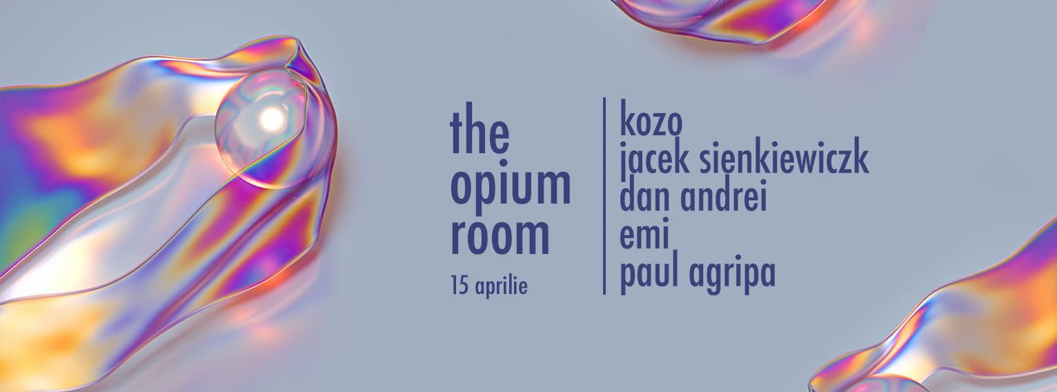 The opium room w. Kozo, Jacek Sienkiewiczk, Dan Andrei, Emi, Paul Agripa @ Club Eden