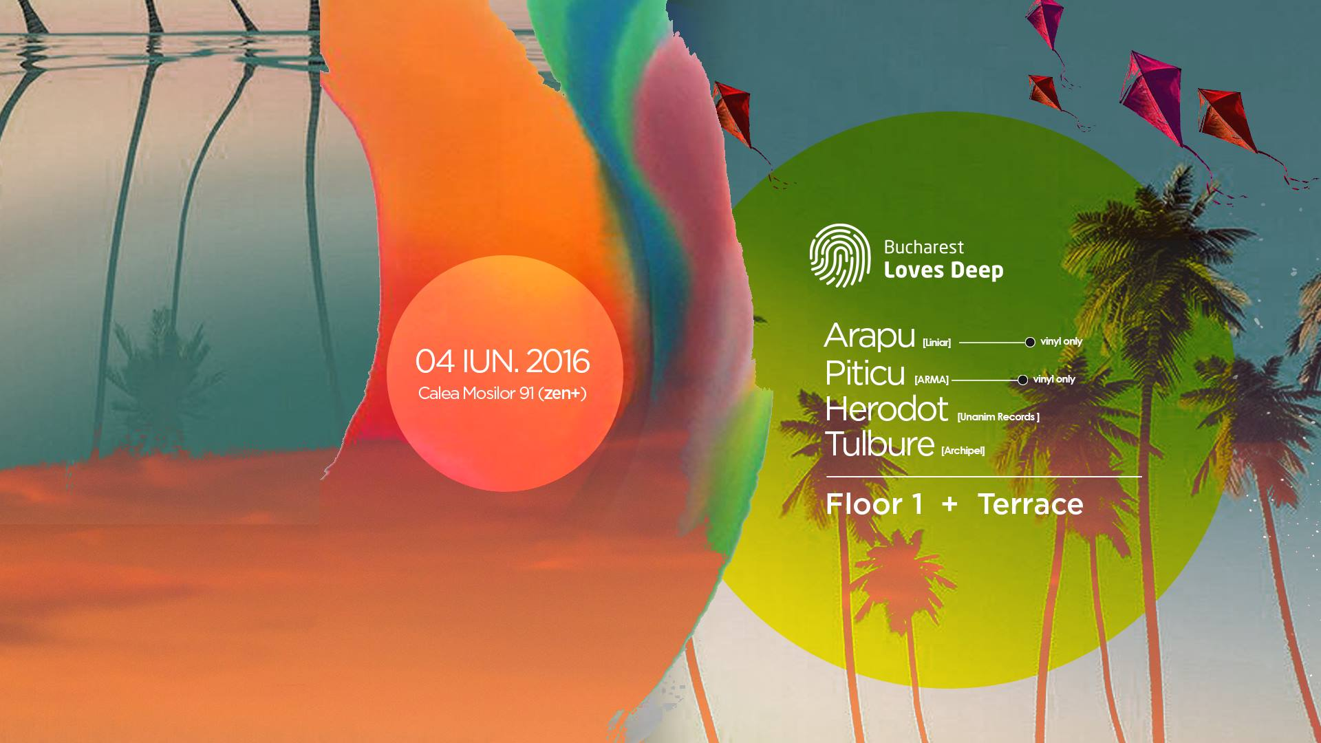 Daytime Party with Arapu & Piticu [ vinyl only ] / Herodot / Tulbure ツ