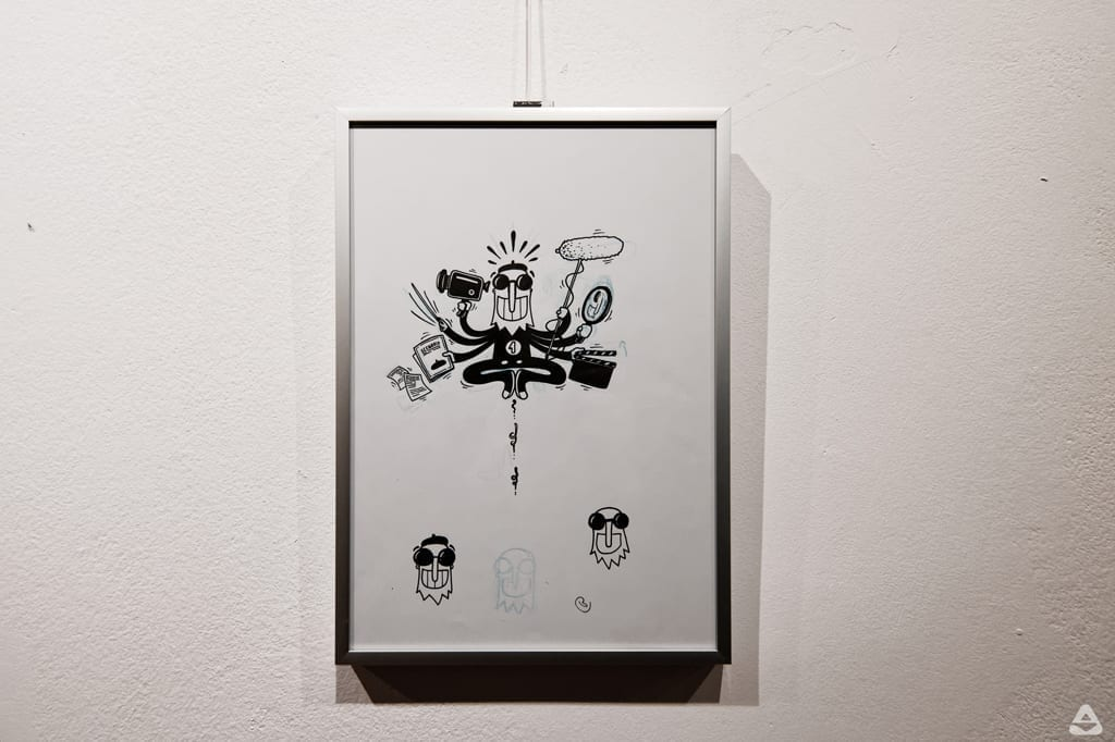 Matei Branea – De 10xNexT / expoziție de grafică și animație – 10 ani de branding pentru Festivalul Internațional de Film NexT