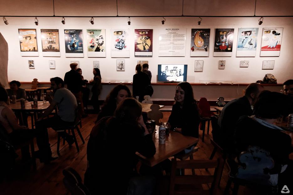 Matei Branea - De 10xNexT / expoziție de grafică și animație - 10 ani de branding pentru Festivalul Internațional de Film NexT