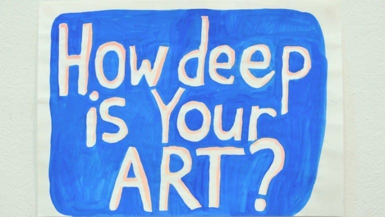 Mobius Gallery: Anna Khodorkovskaya - HOW DEEP IS YOUR ART? Chapter II
