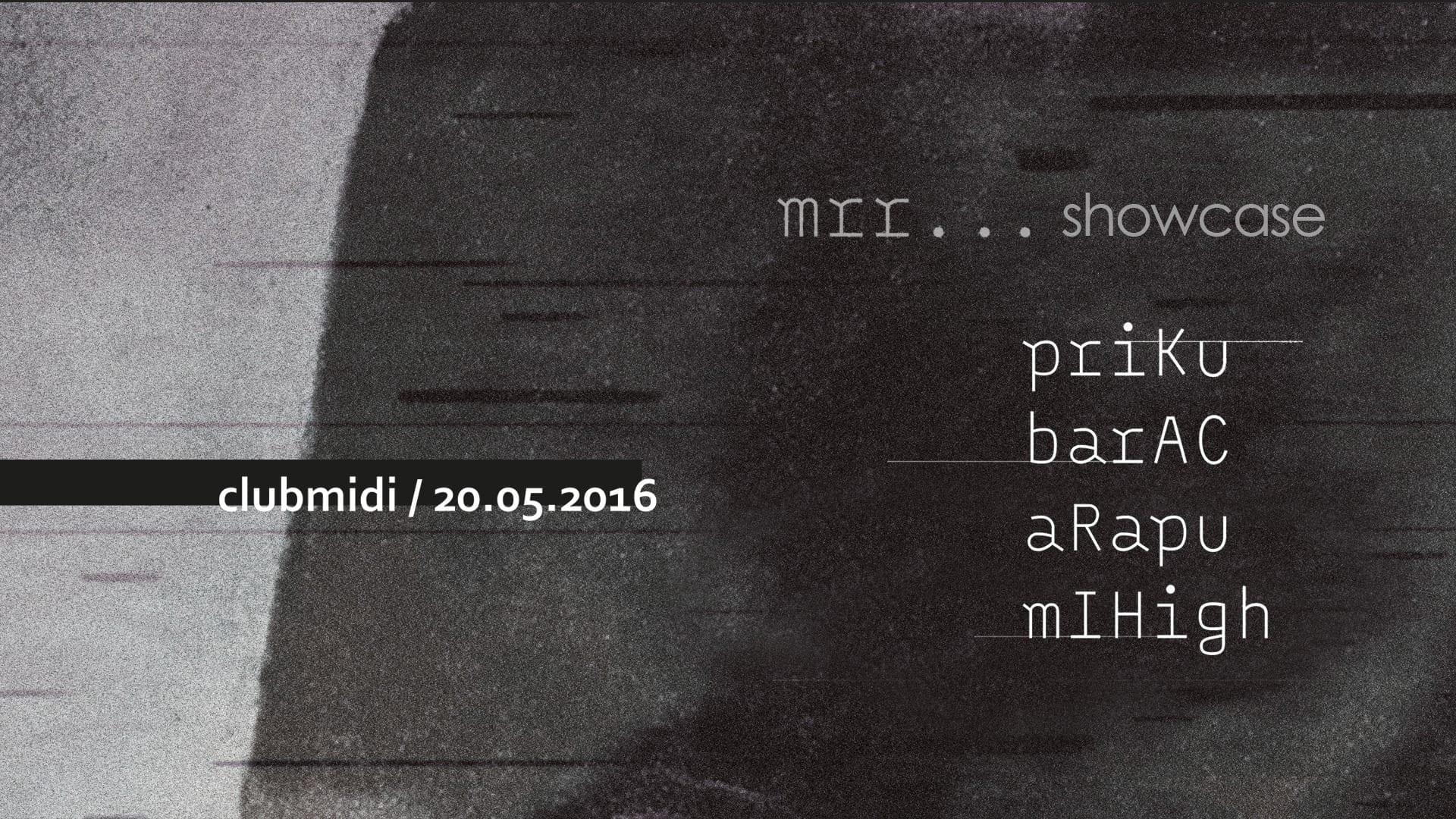 MRR Showcase @ Club Midi