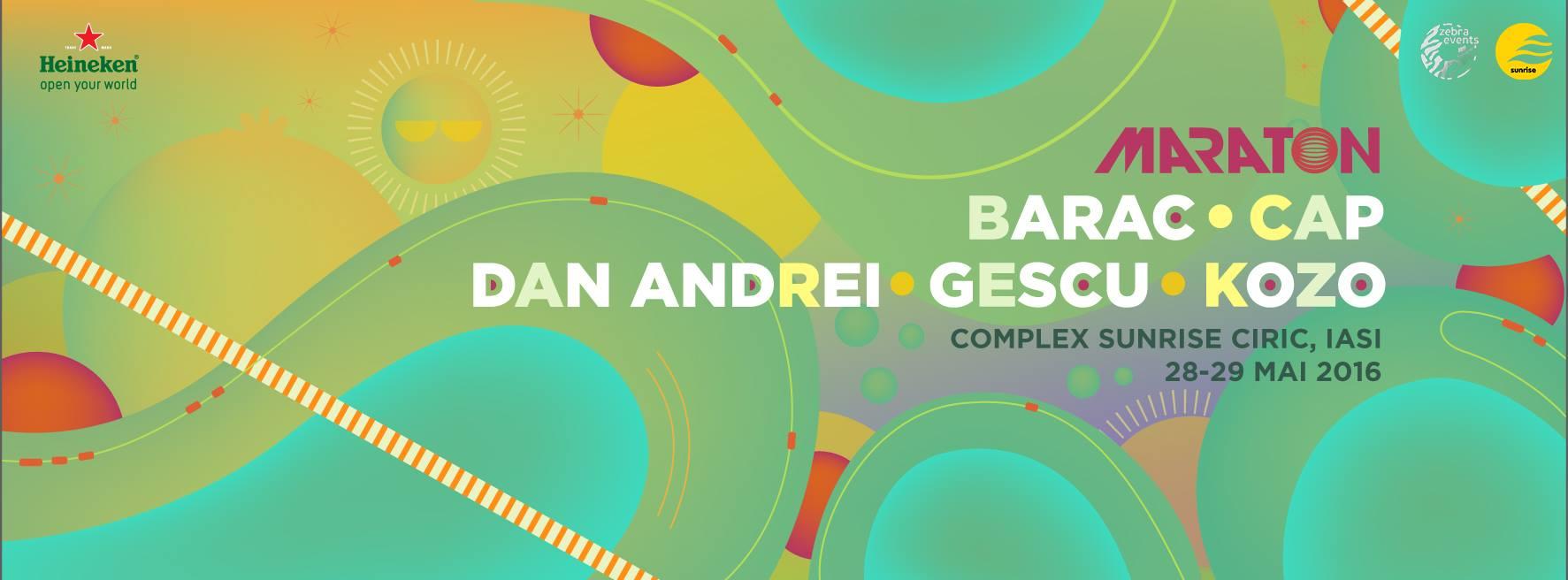 Barac, Gescu, Dan Andrei, Kozo, Cap @ Maraton iași