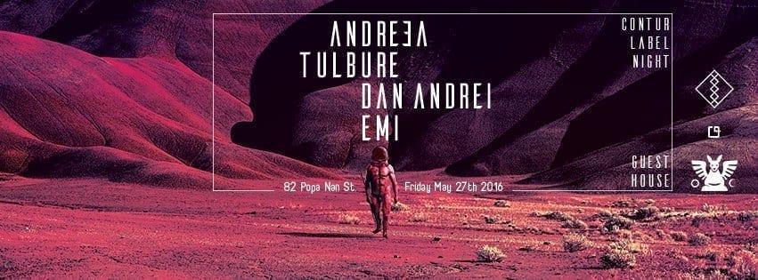 Tulbure, Dan Andrei, Emi, Andreea @ Guesthouse