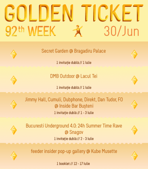 Golden Ticket W91