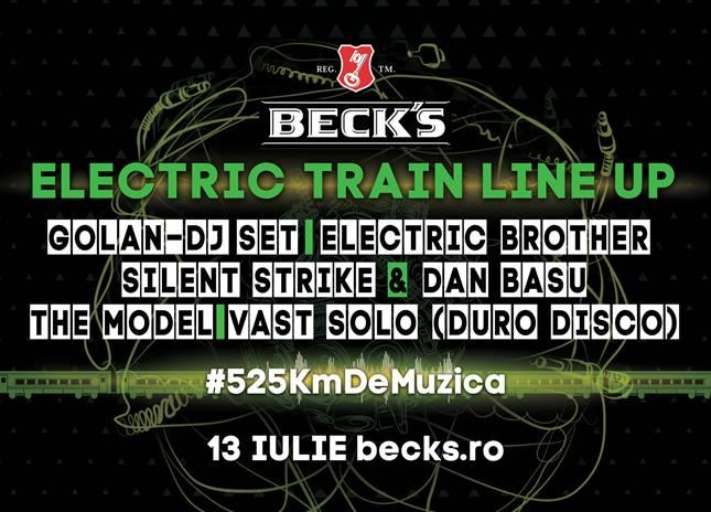 Electric Train for Electric Castle @ Gara de Nord