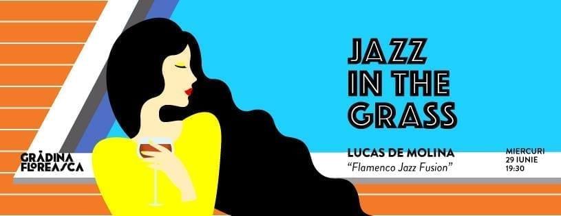 "Jazz in the Grass 16: LUCAS Molina ""Una Noche de Flamenco & Jazz Fusion"" @ Grădina Floreasca"