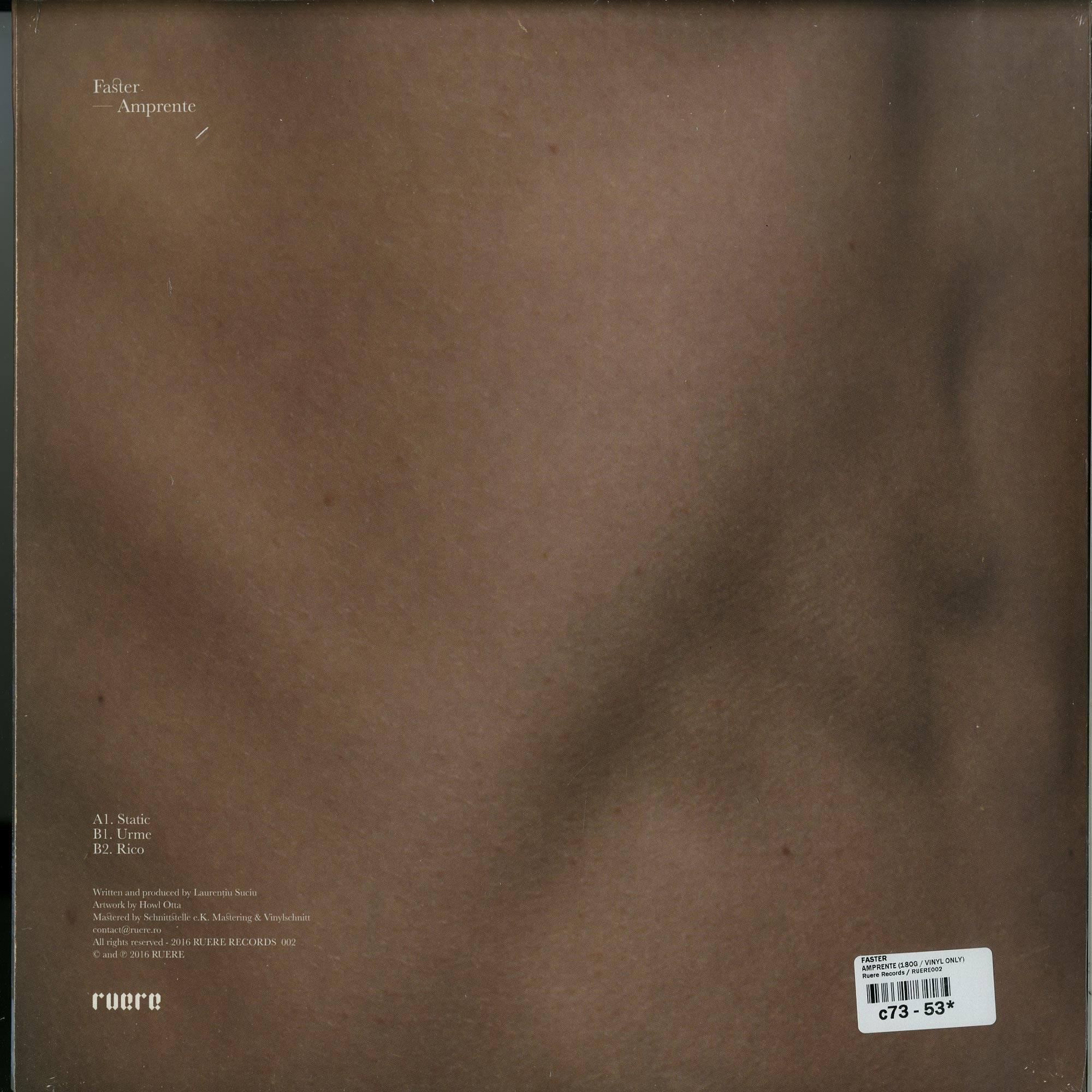 Faster - Amprente EP