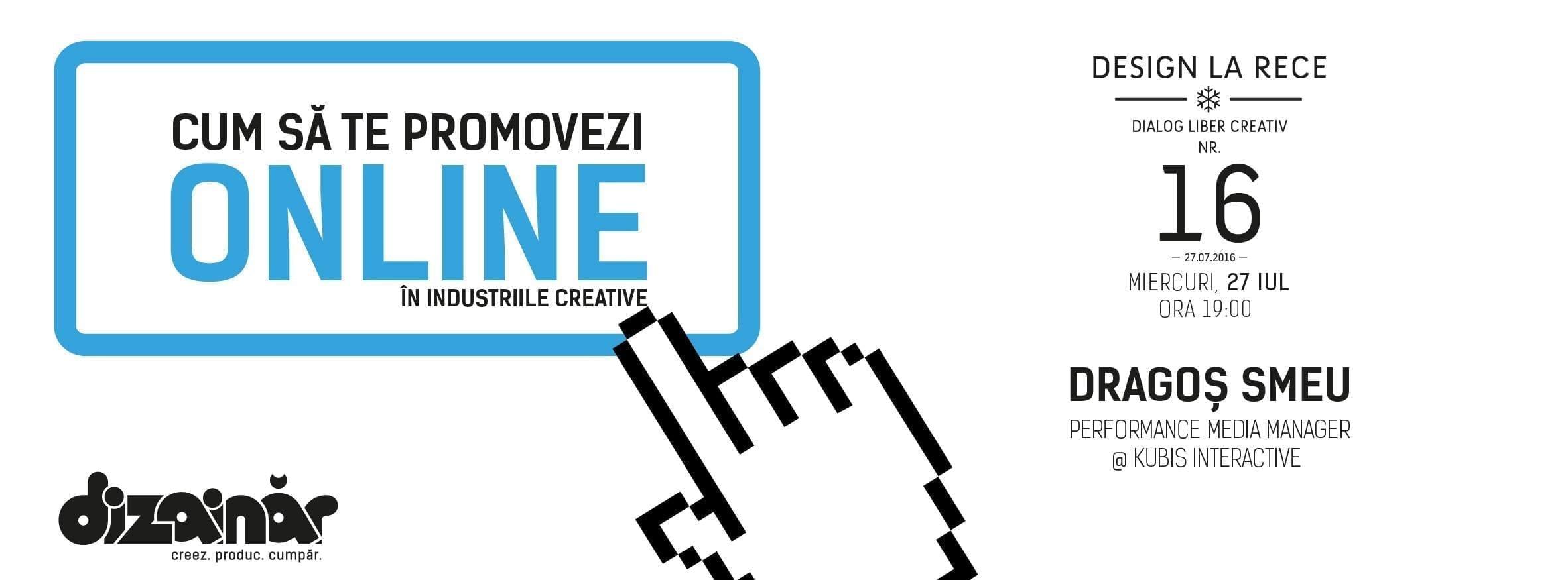 Design la rece #16 - Cum să te promovezi online