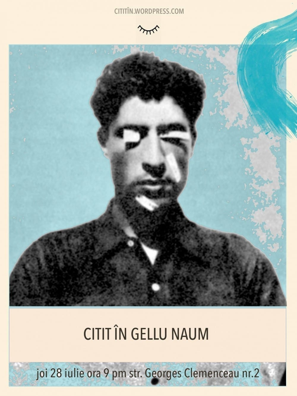 Citit În Gellu Naum @ The Art of Living Gallery