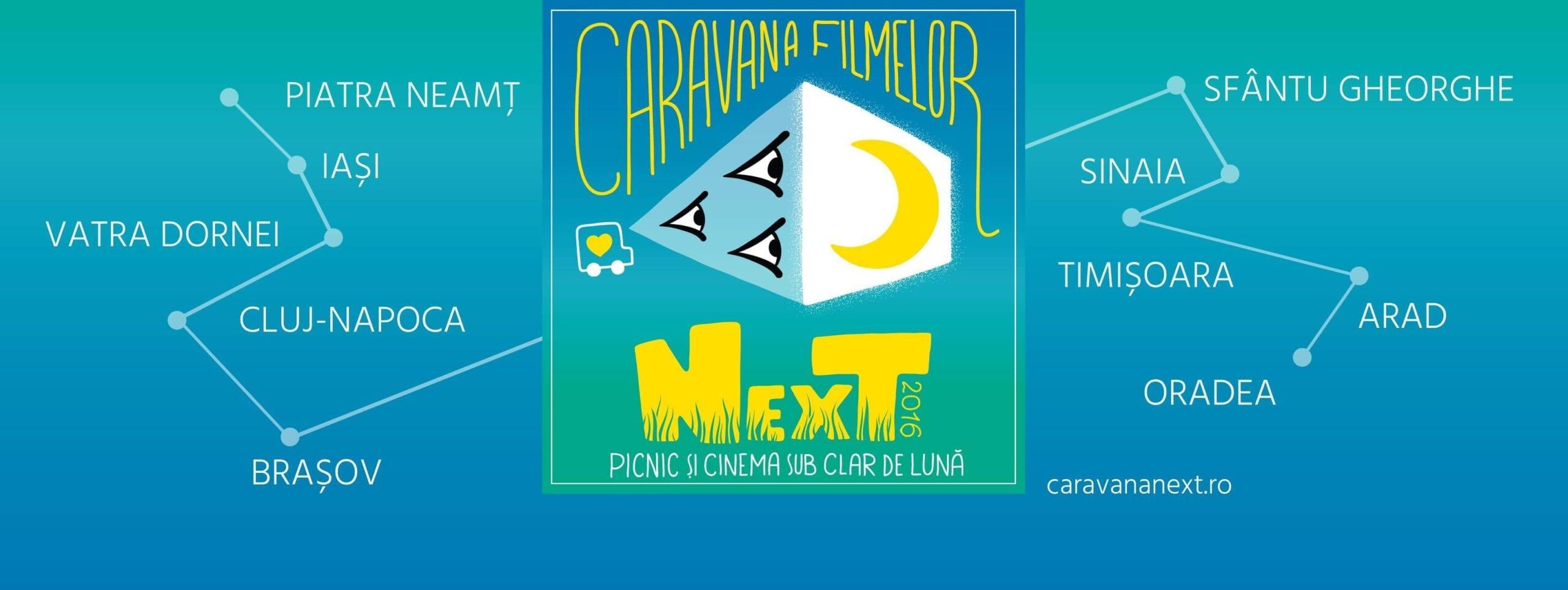 Caravana Filmelor NexT 2016 @ România