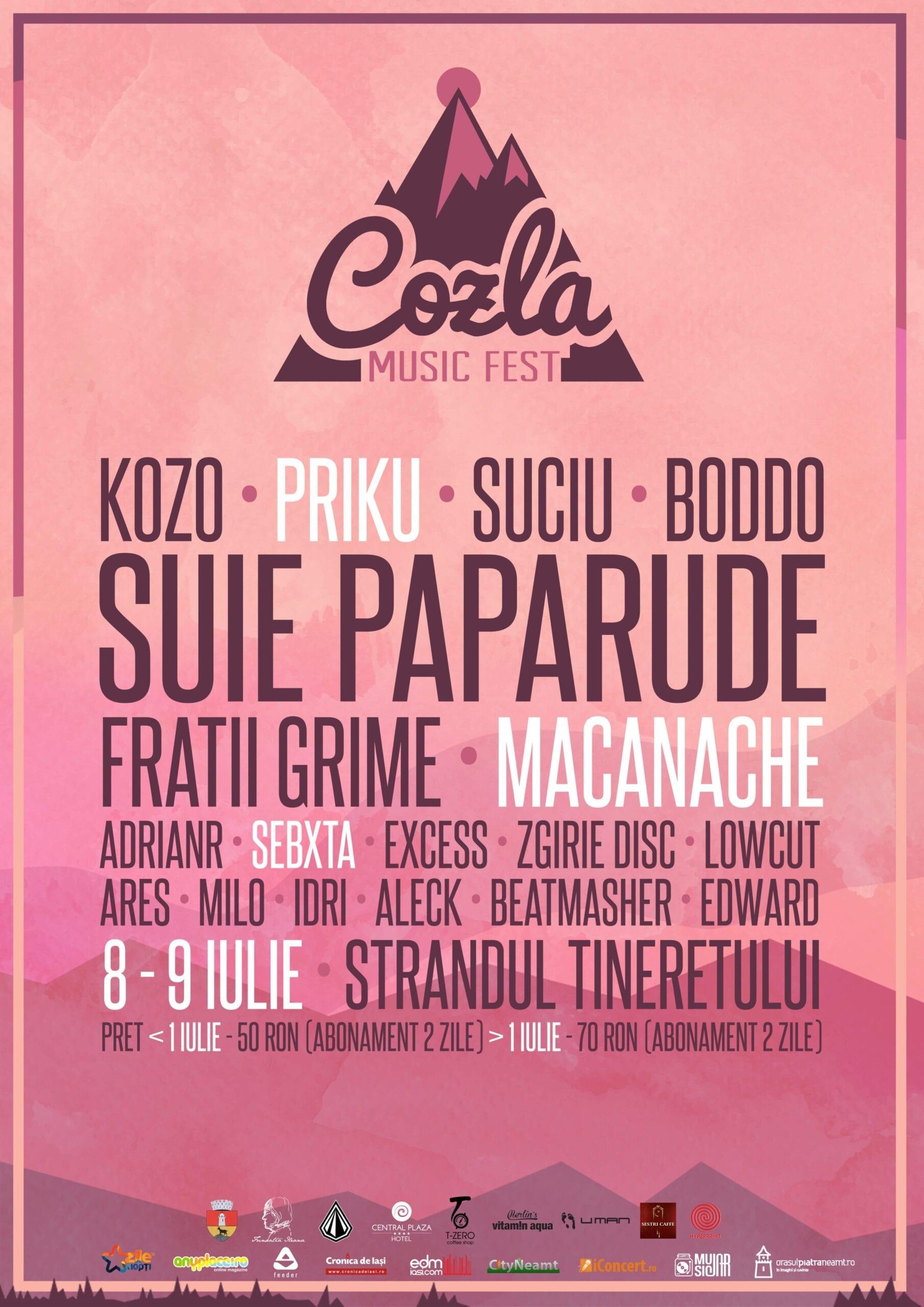 Cozla Fest 5 @ Ștrandul Tineretului