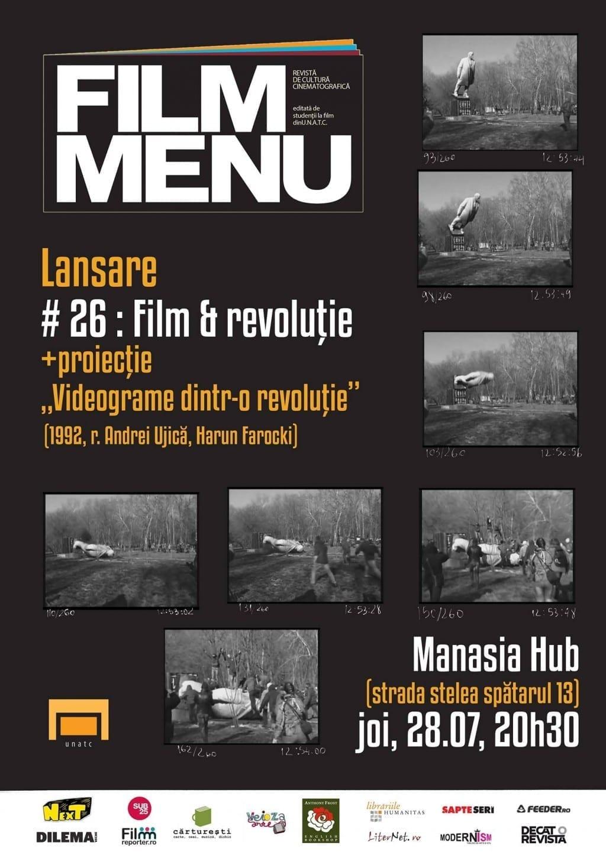 Lansarea Film Menu #26 @ Manasia Hub