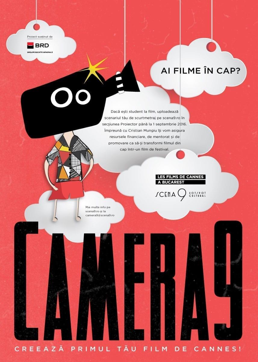 """Au început înscrierile pentru competiția de scurtmetraje """"Camera 9"""""""