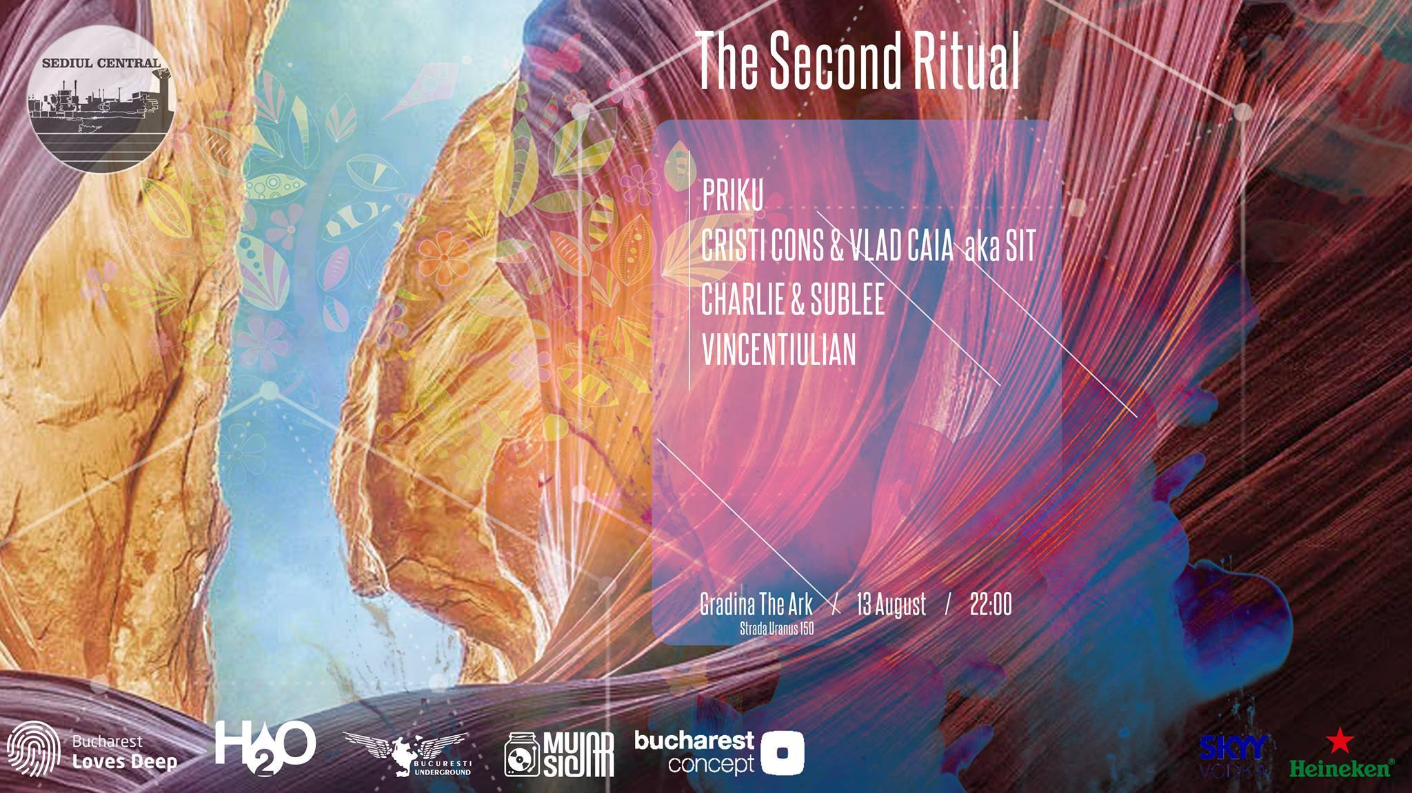 The Second Ritual: Priku, SIT, Charlie & Sublee, Vincentiulian @ Grădina The Ark