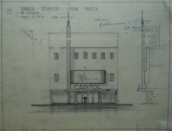 1938 Refacere fatada + aparat de intrare H. D. 6 fatada + sect