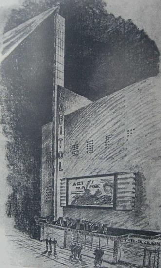 1938 Refacere fatada + aparat de intrare Henrieta Delavrancea 1 schita
