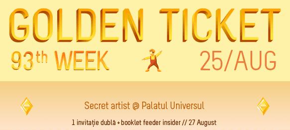 Golden Ticket W93