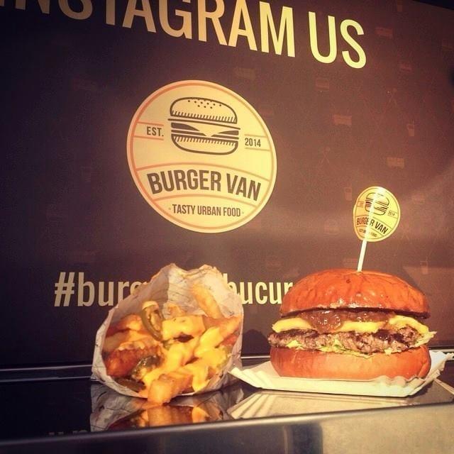 Burger Van @ Bucharest Street Food Festival