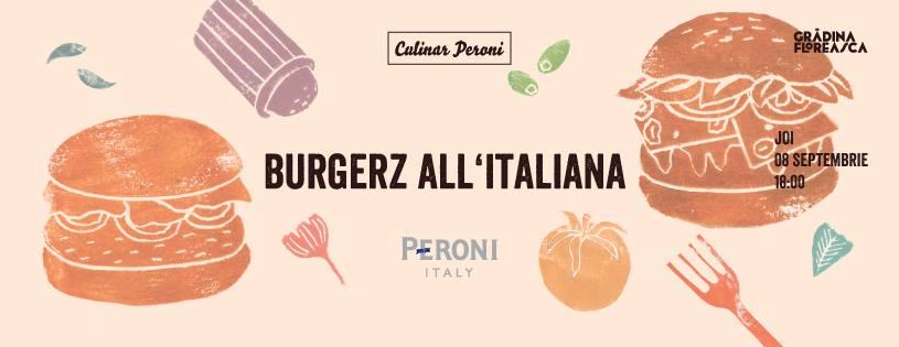 Culinar 17, Burgerz all'italiana @ Grădina Floreasca