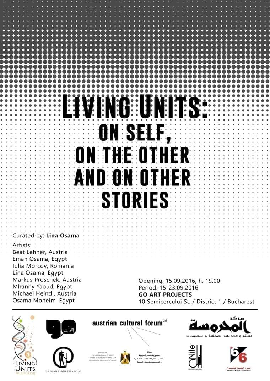 Living Units @ Go art Projects Bucharest 15.09.2016 feeder
