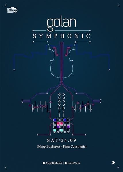 Golan Symphonic @ Piața Constituției