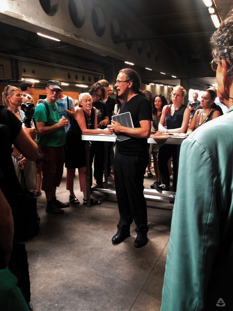 Opening Tour w/ Gerfried Stocker