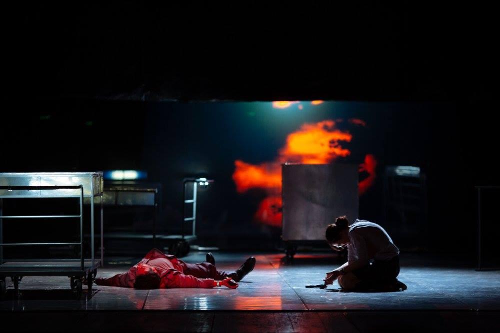 Dansând în noapte @ Festivalul Național de Teatru